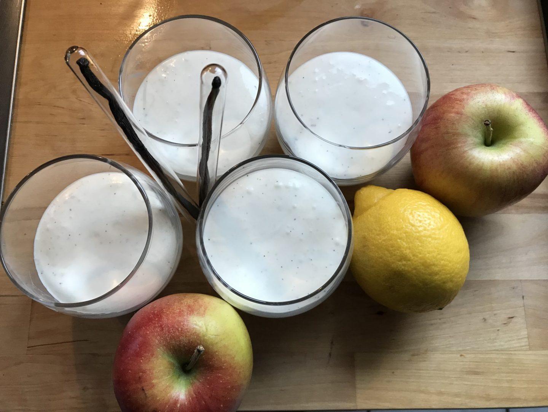 Rezept Rezeptidee Zutaten Apfelstrudel im Glas Alexander Herrmann Foodblog Sternestulle