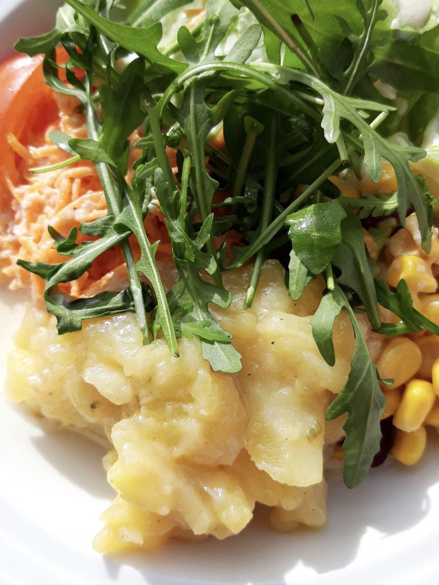 Salat Wurmegg Hochleger Skijuwel Alpbachtal Wildschönau Salatäquator Foodblog Sternestulle
