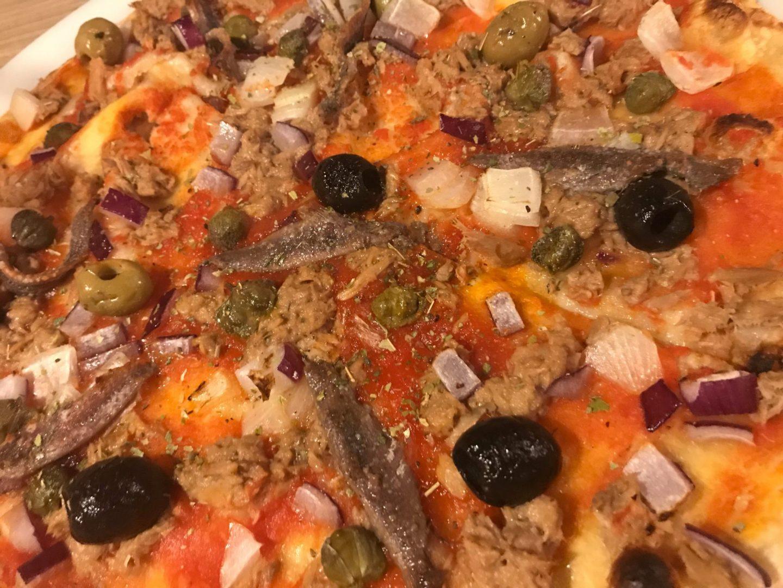 Pizza Speziale Erfahrung Trattoria Villa Conte Herne Foodblog Sternestulle