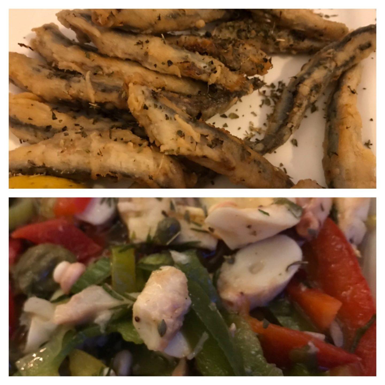 Fischvorspeise Sardellen Oktopus Erfahrung Ouzos Herne Foodblog Sternestulle