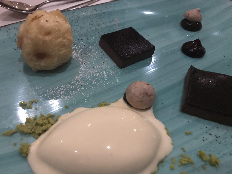 Dessert Erfahrung Menükarussell Gute Stube Parkhotel Herne Foodblog Sternestulle