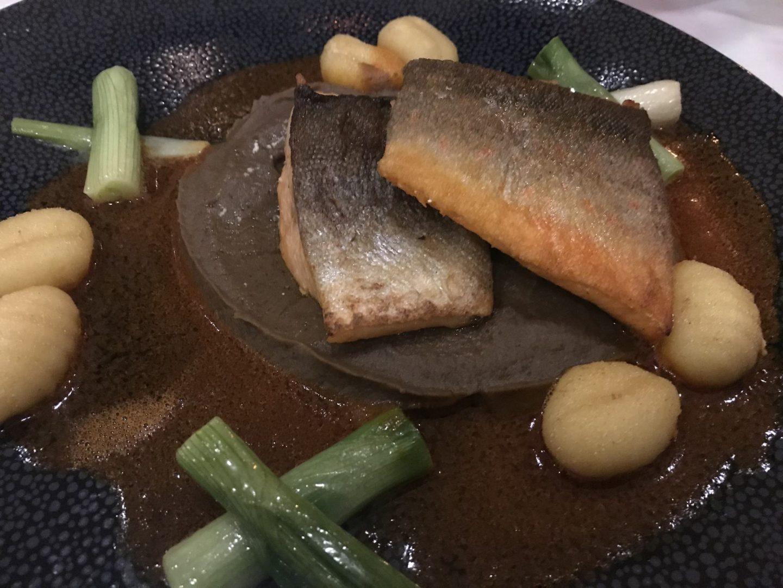Saibling Gnocchi Linsen Erfahrung Menükarussell Gute Stube Parkhotel Herne Foodblog Sternestulle
