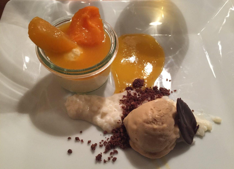 Dessert Mokkaeis Erfahrung Weltreise Weinbergschlösschen Oberheimbach Foodblog Sternestulle
