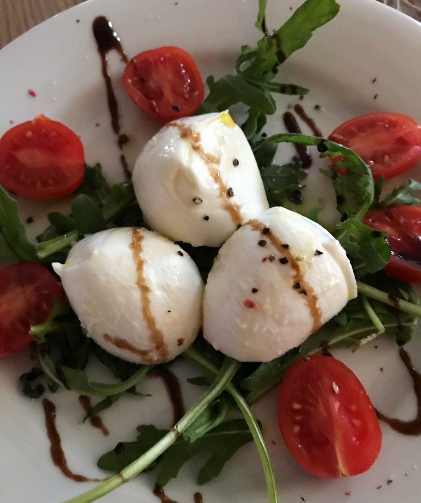 Büffelmozzarella Tomate Rucola Erfahrung Trattoria Villa Conte Herne Foodblog Sternestulle