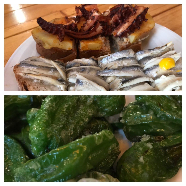 Erfahrung Bewertung Kritik Tapas Piementos Boquerones Foodblog Sternestulle Markthalle Mercado Gastronómico San Juan Palma de Mallorca