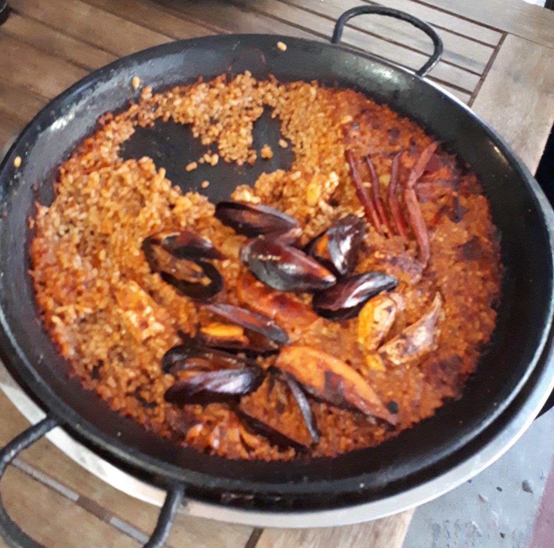 Erfahrung Kritik Bewertung Paella Restaurant El Bungalow Ciutat Jardi Palma de Mallorca Foodblog Sternestulle