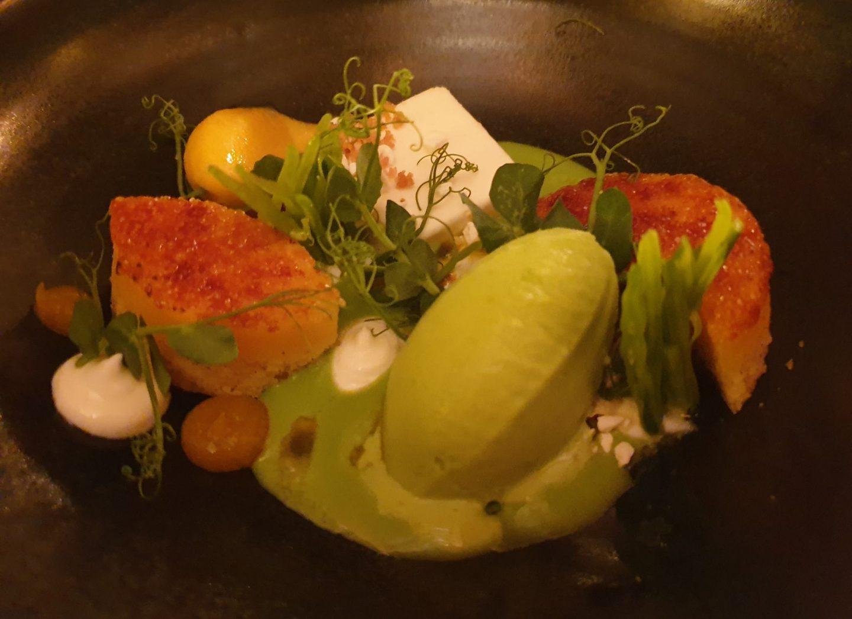 Dessert Erbse Joghurt Passionsfrucht Erfahrung Bewertung Kritik Backmulde Ladenburg Foodblog Sternestulle