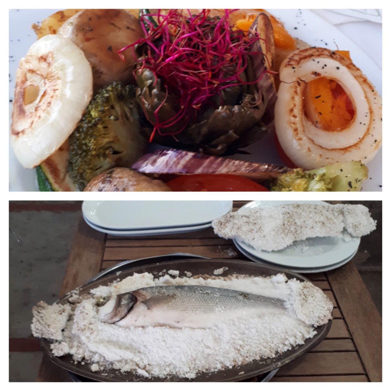 Erfahrung Kritik Bewertung Zackenbarsch Salzkruste Restaurant El Bungalow Ciutat Jardi Palma de Mallorca Foodblog Sternestulle