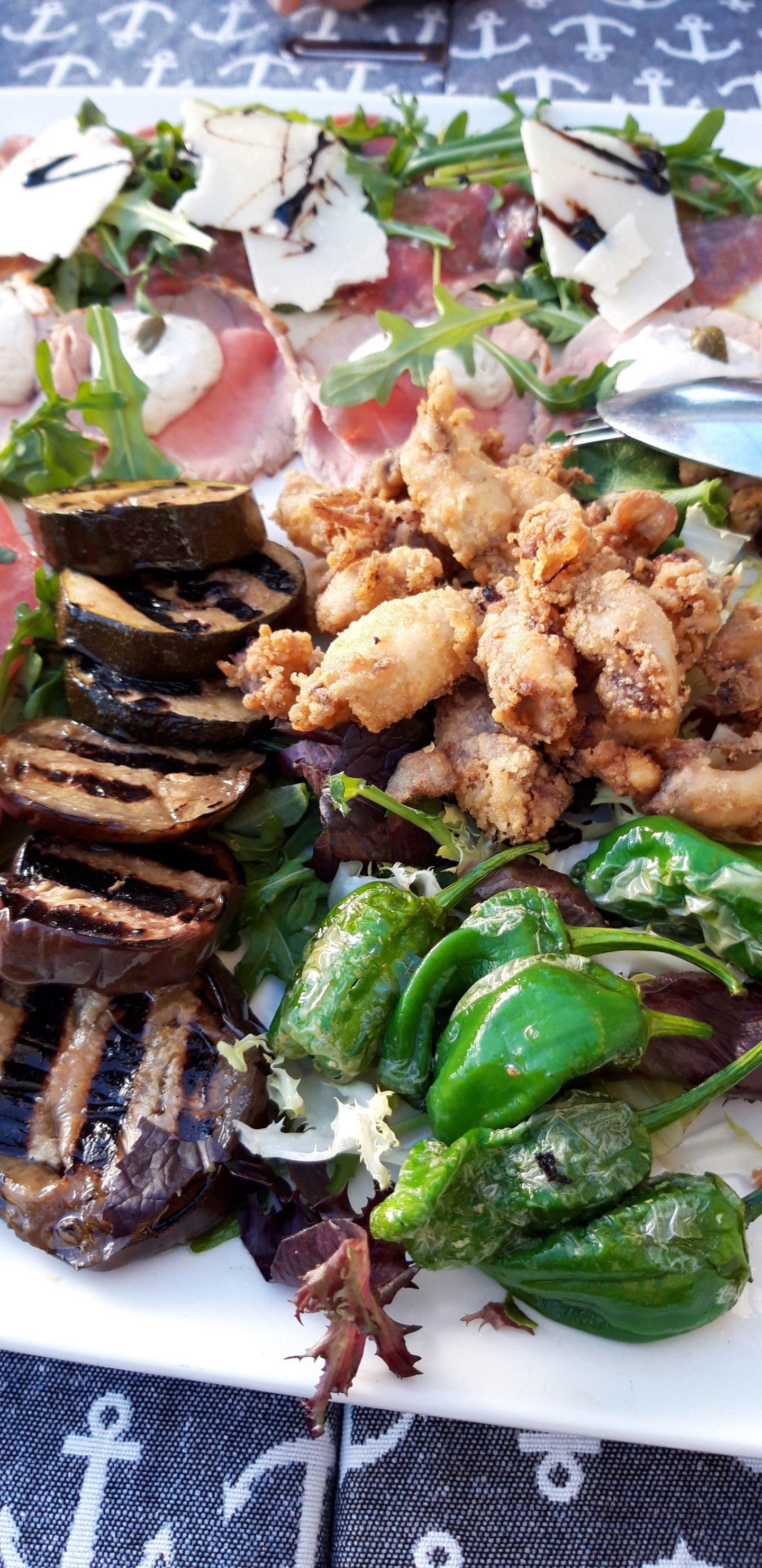 Erfahrung Kritik Bewertung Vorspeisenplatte Restaurant Almare Ciutat Jardi Palma de Mallorca Foodblog Sternestulle