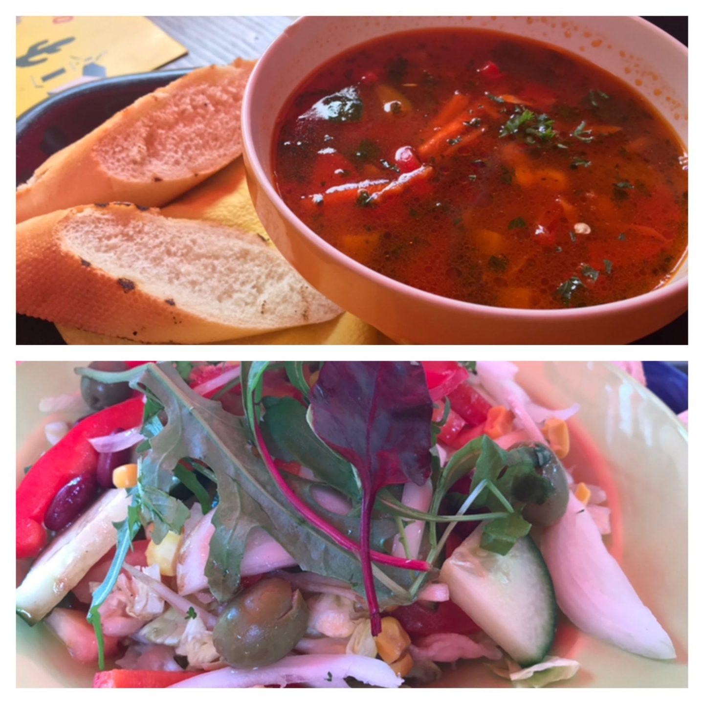 Erfahrung Bewertung Kritik Suppe Salat Sancho Pancha Foodblog Sternestulle