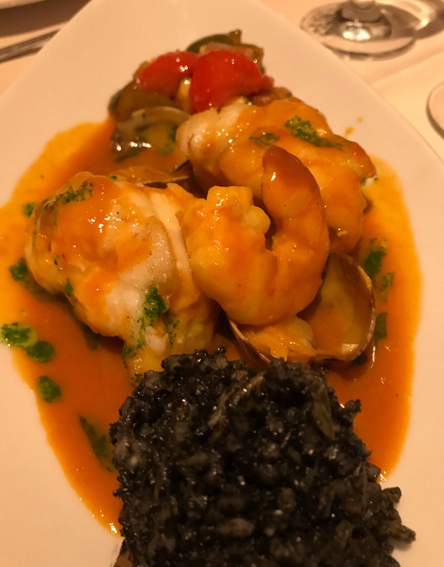 Erfahrung Bewertung Kritik Tapas Seeteufel Safran schwarzer Reis El Olivo Recklinghausen Foodblog Sternestulle