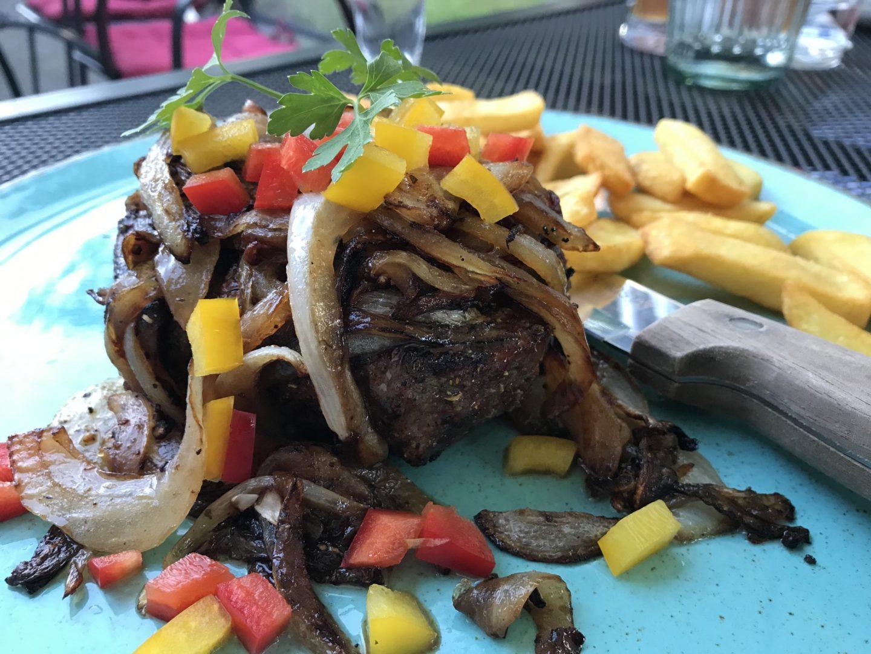 Erfahrung Bewertung Kritik Steak vom Grill Taverna Maria Hanau Großauheim Foodblog Sternestulle