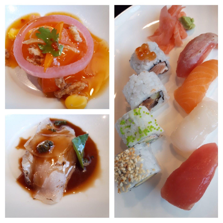 Erfahrung Bewertung Kritik Sushi Sashimi Hanami Tim Raue Mein Schiff 6 Foodblog Sternestulle