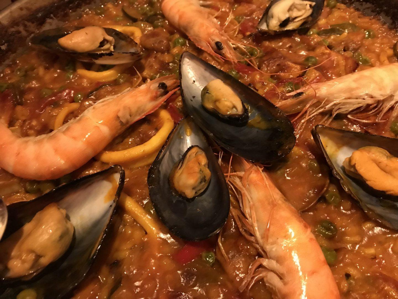 Erfahrung Bewertung Kritik Paella mit Meeresfrüchten El Olivo Recklinghausen Foodblog Sternestulle
