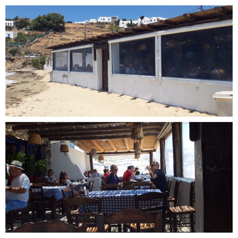Erfahrung Bewertung Kritik Joannas Nikos Place Mykonos Griechenland Foodblog Sternestulle
