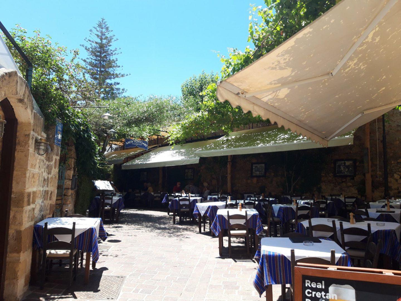 Erfahrung Bewertung Kritik Taverne Moutoupaki Chania Griechenland  Kreta Foodblog Sternestulle