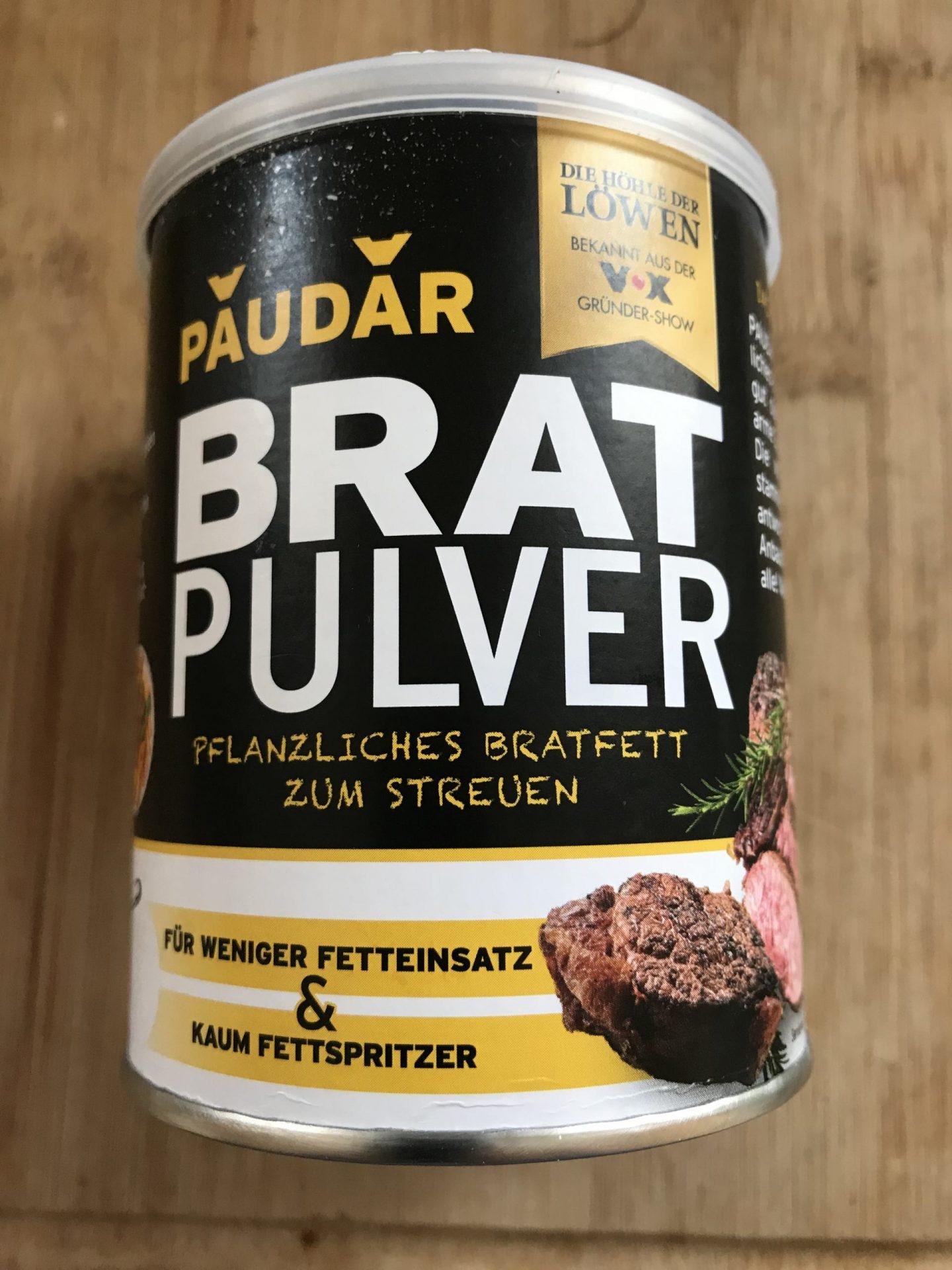 Foodnews Erfahrung Test Paudar Bratpulver Höhle der Löwen Foodblog Sternestulle