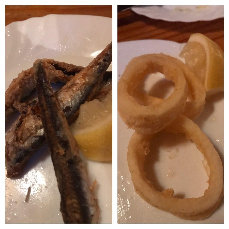 Erfahrung Bewertung Kritik Taberna Andaluza Dortmund Tapas frittierte Sardellen und Calamari Foodblog Sternestulle