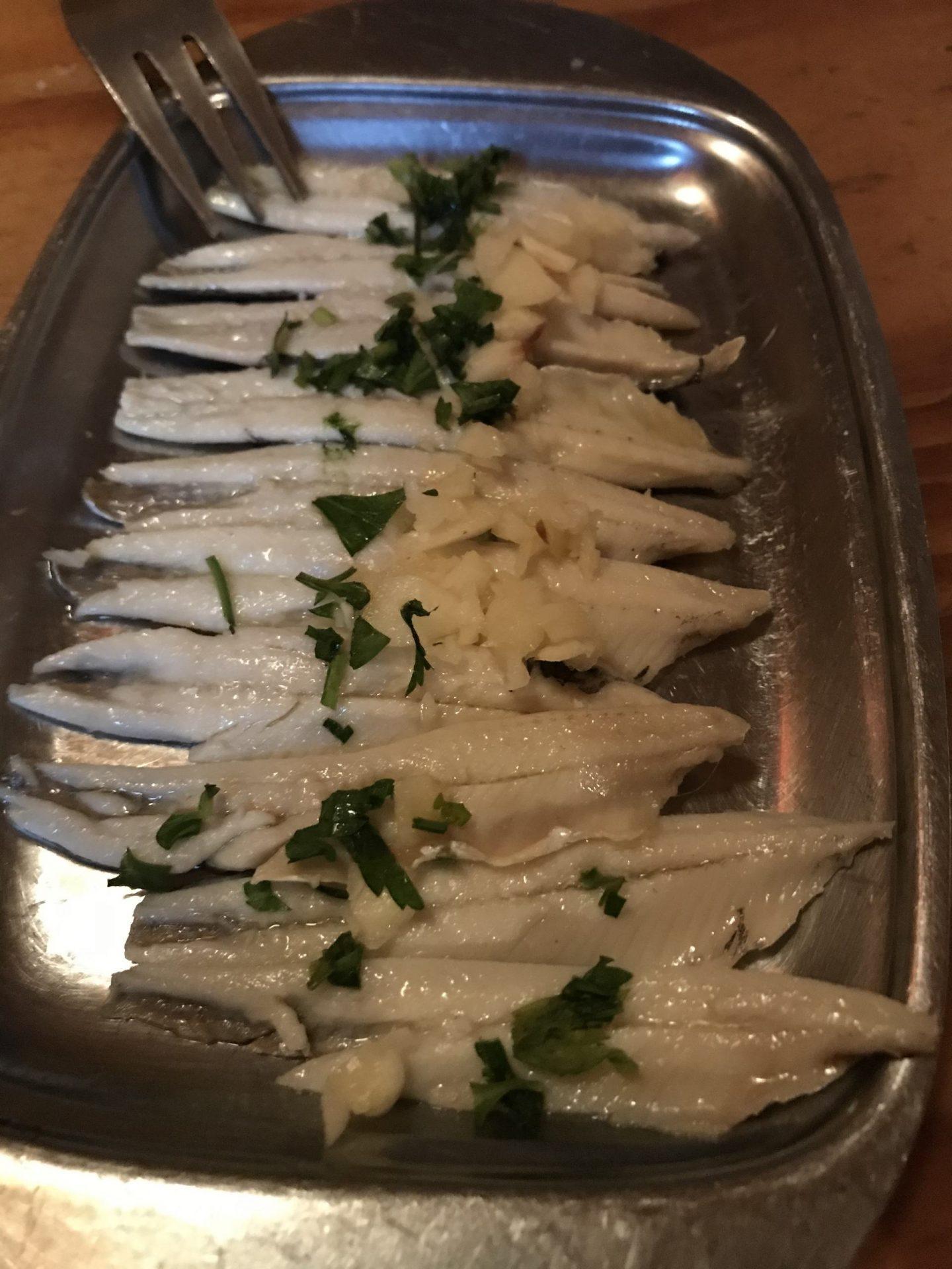 Erfahrung Bewertung Kritik Taberna Andaluza Dortmund Tapas Boquerones eingelegte Sardellen Foodblog Sternestulle
