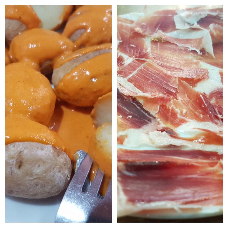 Erfahrung Bewertung Kritik Toma Pan y Moja Las Palmas Gran Canaria Mojo Rojo Papas Arrugadas Pata Negra Foodblog Sternestulle