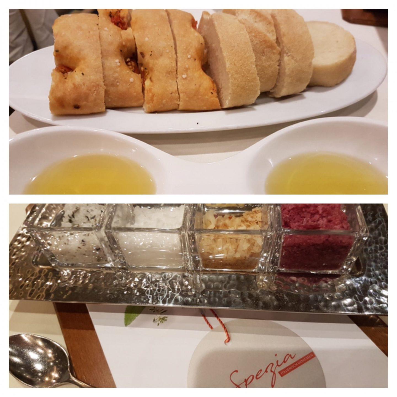 Erfahrung Bewertung Kritik Gourmetpaket Mein Schiff La Spezia Brot und Olivenöl Foodblog Sternestulle