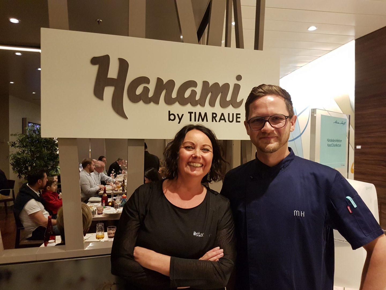 Erfahrung Bewertung Kritik Gourmetpaket Mein Schiff Hanami by Tim Raue Foodblog Sternestulle trifft Marcel Hertrampf