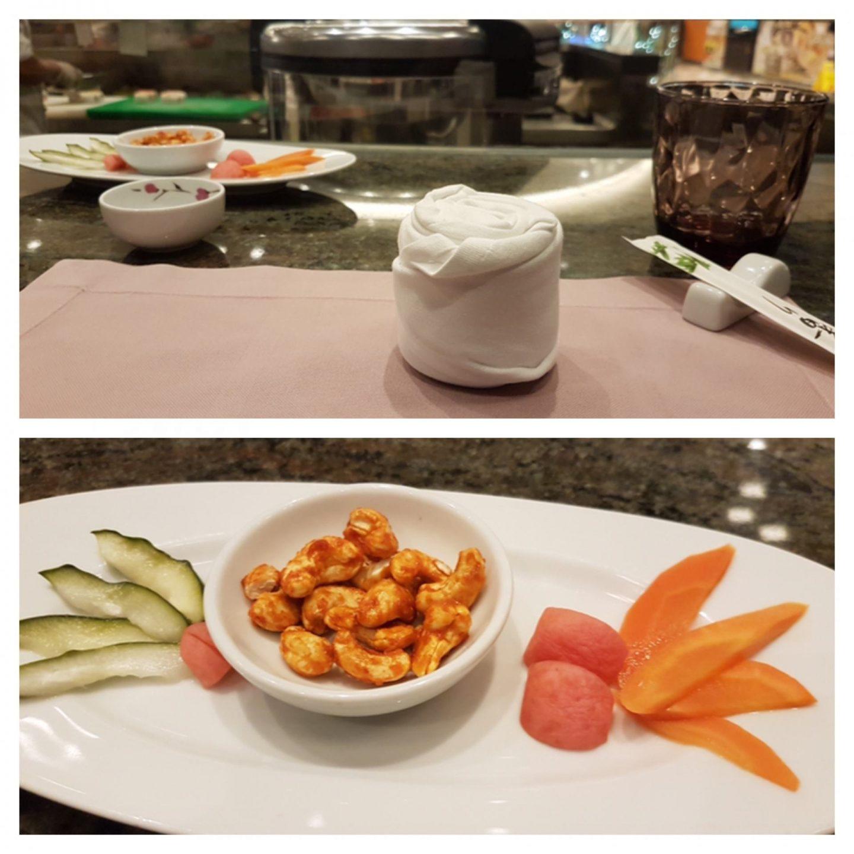 Erfahrung Bewertung Kritik Gourmetpaket Mein Schiff Hanami by Tim Raue Foodblog Sternestulle