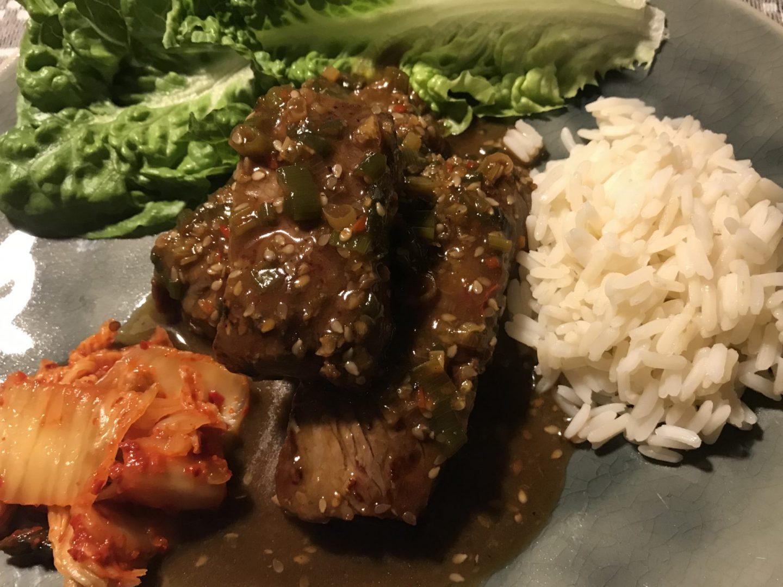 Rezept Rezeptidee koreanisches Bulgogi Feuerfleisch Rindfleisch Kimchi Foodblog Sternstulle