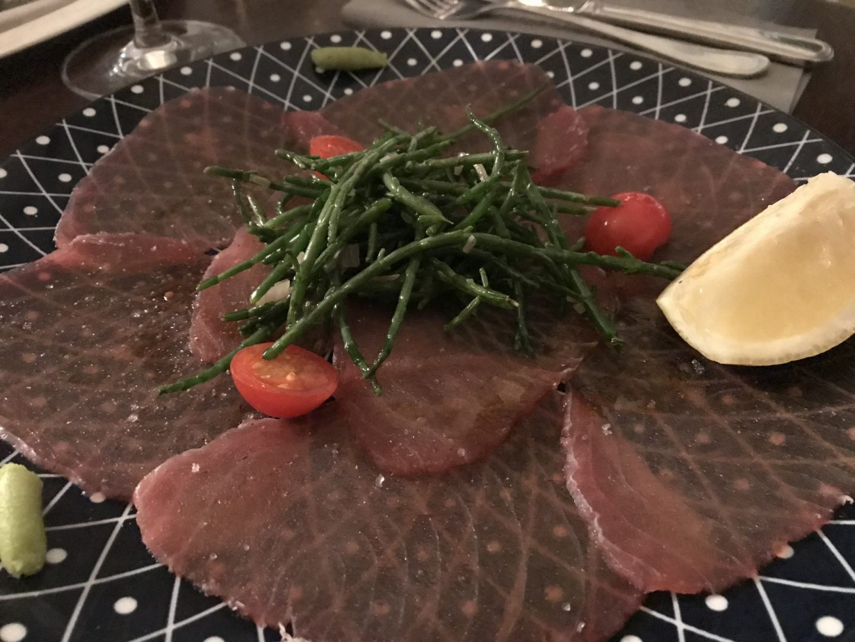 Erfahrung Bewertung Kritik Petite Marie Köln Rodenkirchen Thunfisch Carpaccio Foodblog Sternestulle