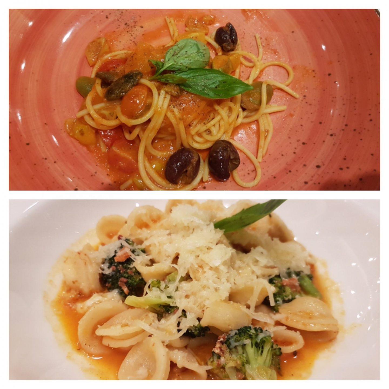 Erfahrung Bewertung Kritik Gourmetpaket Mein Schiff La Spezia Spaghetti Chitarra mit Tomaten Oliven und Chili Orecchiette mit Nduja di Spilinga Foodblog Sternestulle