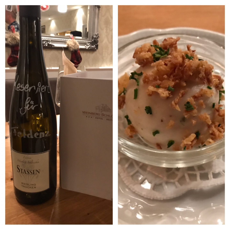 Erfahrung Bewertung Kritik In sieben Gängen um die Welt Weinbergschlösschen Oberheimbach Foodblog Sternestulle
