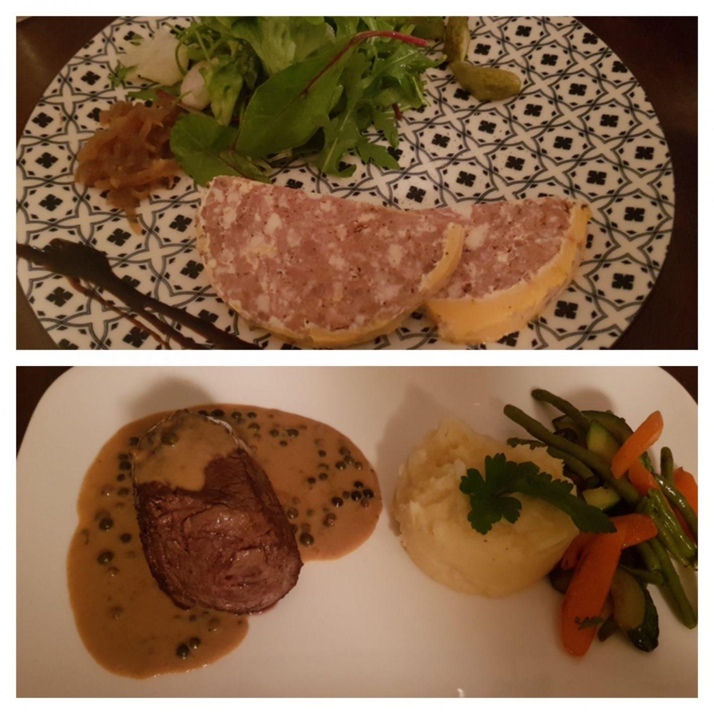 Erfahrung Bewertung Kritik Petite Marie Köln Rodenkirchen Pate Maison Filet Pfeffersoße Foodblog Sternestulle