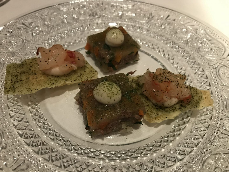 Erfahrung Bewertung Kritik Restaurant Hannappel Essen genießen Gruß der Küche Foodblog Sternestulle
