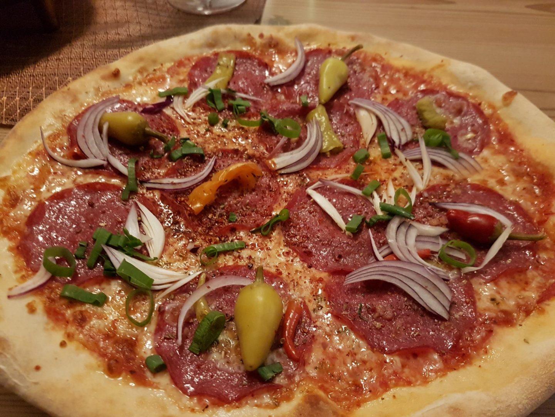 Erfahrung Bewertung Kritik Pizzeria Palas Reith im Alpbachtal Skijuwel Foodblog Sternestulle