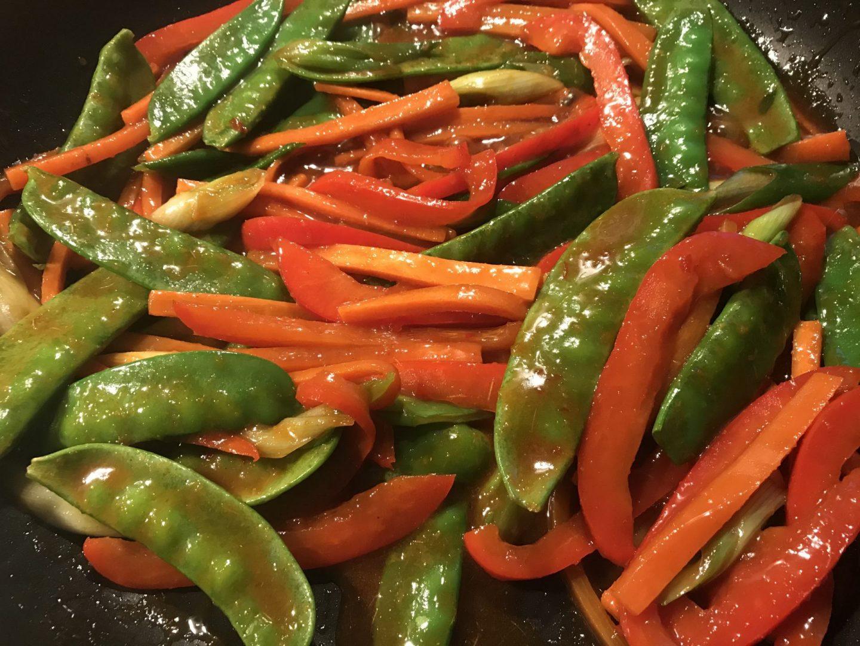 Rezept Rezeptidee Knusprige Entenbrust mit Gemüse in Asia-Lack und Teriyaki-Soße Foodblog Sternestulle