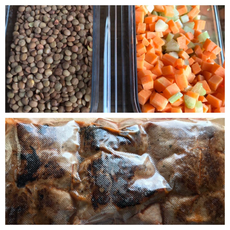 Rezept Rezeptidee italienische Rinderrouladen mit Linsengemüse Foodblog Sternestulle