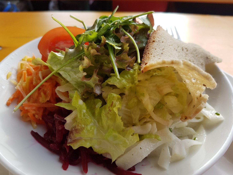 Erfahrung Bewertung Kritik gemischter Salat Skihütte Gipfö Hit Alpbach Skijuwel Alpbachtal Wildschönau Foodblog Sternestulle