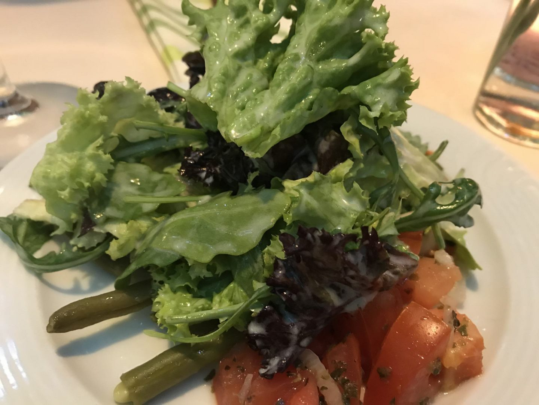 Erfahrung Bewertung Kritik Zur Traube Unkel Gemischter Salat Foodblog Sternestulle
