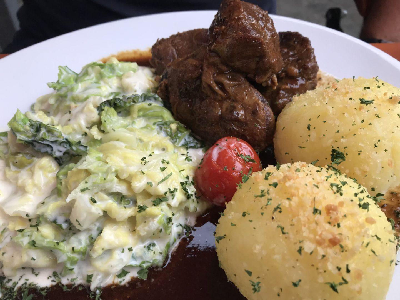 Erfahrung Bewertung Kritik Kromers Restaurant Erfurt Schweinebäckchen Wirsing Thüringer Klöße Foodblog Sternestulle