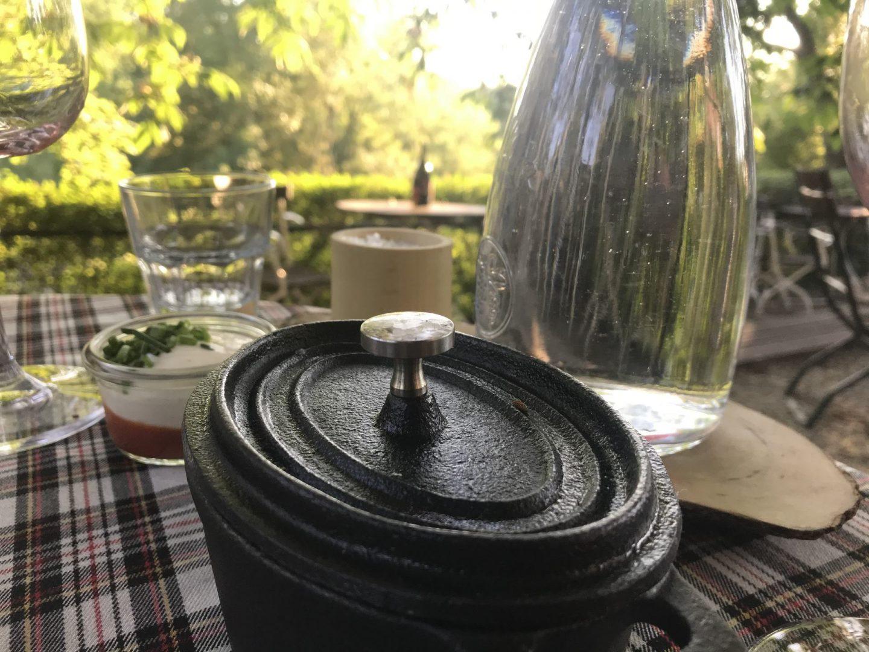 Erfahrung Bewertung Kritik Bachstelze Maria Groß Maria Ostzone Hauptgang Zweierlei Lamm Trüffel-Gnocchi Foodblog Sternestulle