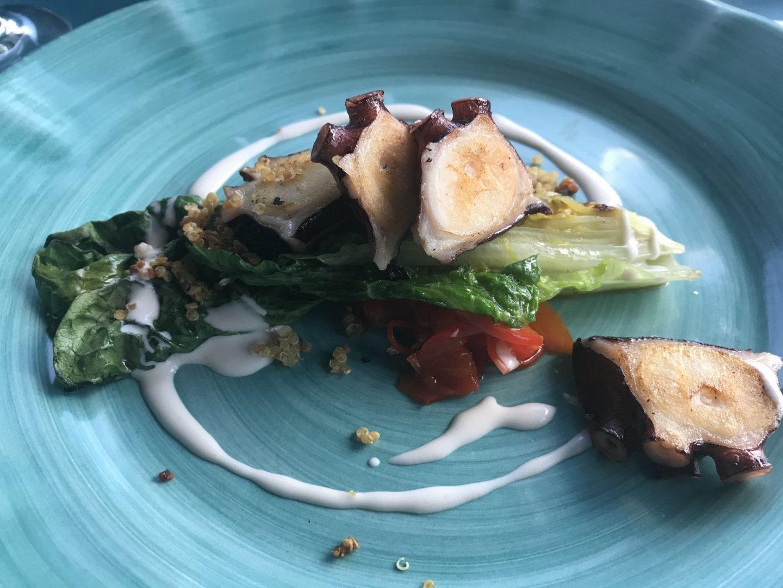 Erfahrung Bewertung Kritik Pastabar Caruso Köln Oktopus Romanasalat Paprika Foodblog Sternestulle