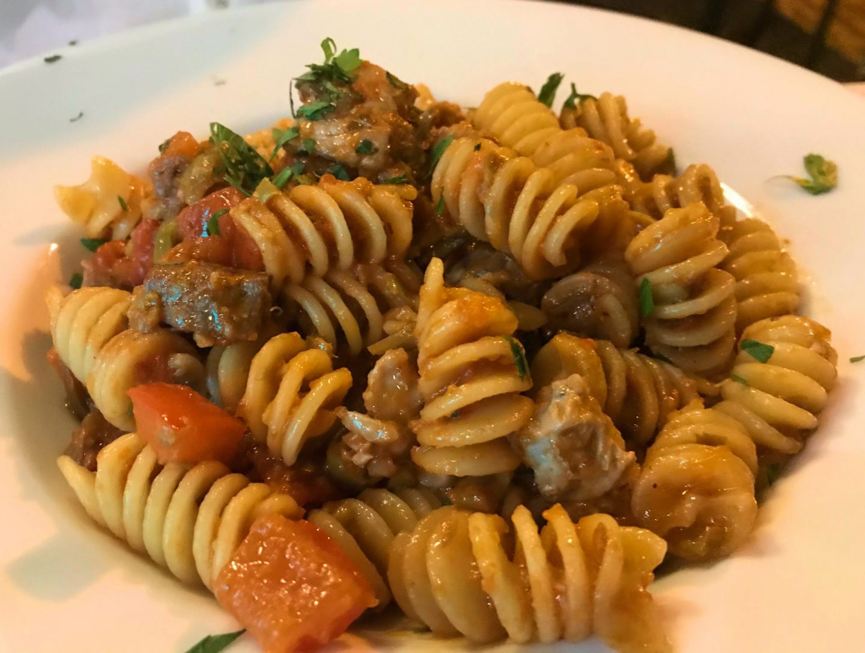 Erfahrung Bewertung Kritik Hotel Brenzone Pasta mit frischem Thunfisch Foodblog Sternestulle