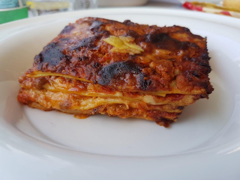 Erfahrung Bewertung Kritik Restaurant Hotel Malcesine Lasagne Bolognese Foodblog Sternestulle