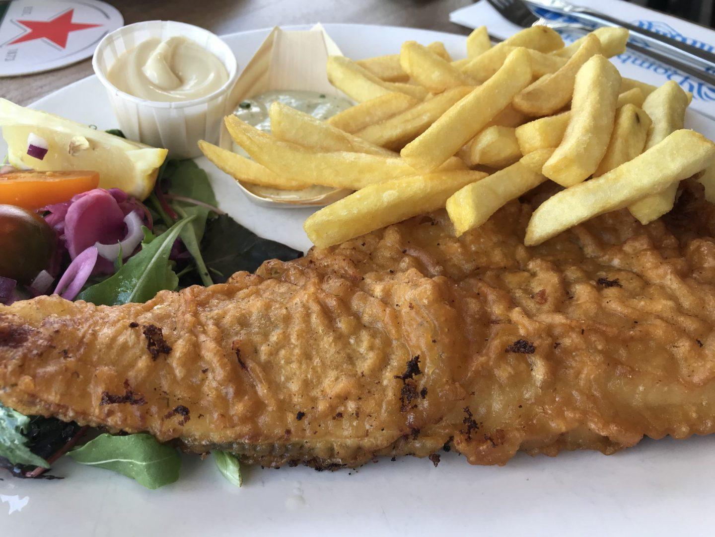 Erfahrung Bewertung Kritik Oase Domburg Fish and Chips Foodblog Sternestulle