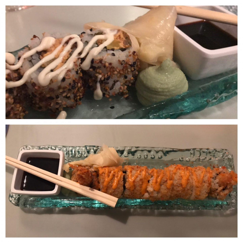 Erfahrung Bewertung Kritik De Visbar Domburg zweierlei Sushi Foodblog Sternestulle