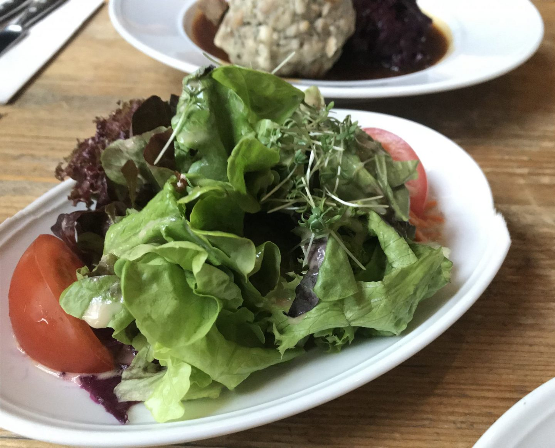 Erfahrung Bewertung Kritik Wirtshaus am See Kahl Salat Foodblog Sternestulle