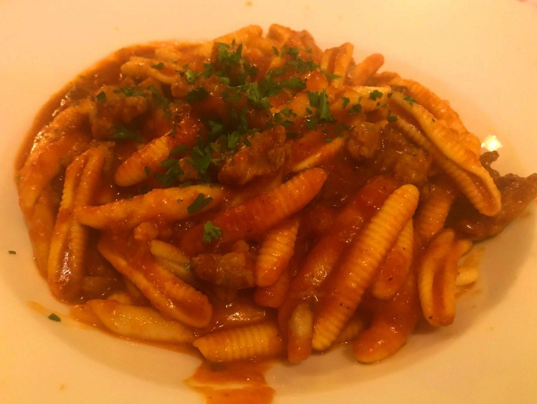 Erfahrung Bewertung Kritik Strozzapreti mit Salsiccia Ristorante Fratelli Herne Foodblog Sternestulle