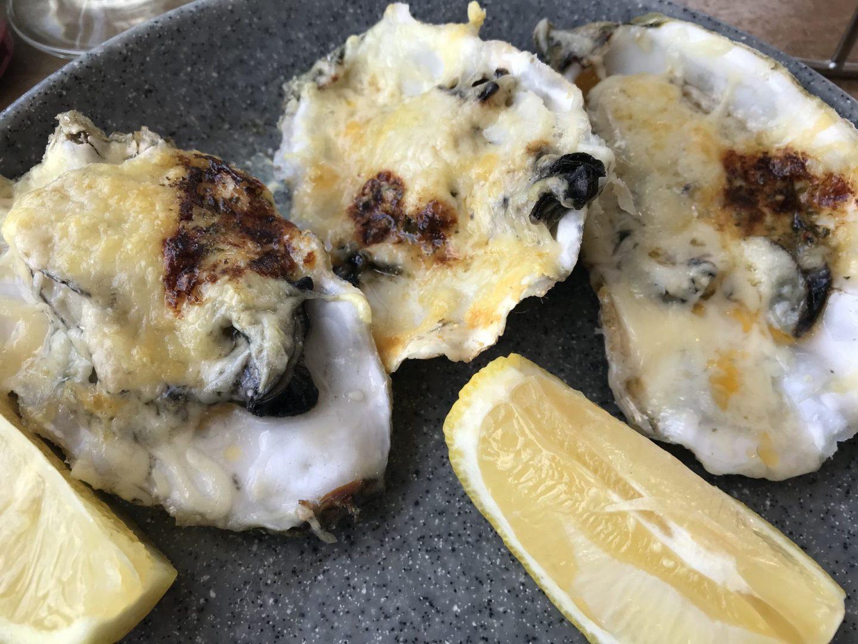 Erfahrung Bewertung Kritik Oase Domburg überbackene Austern Foodblog Sternestulle