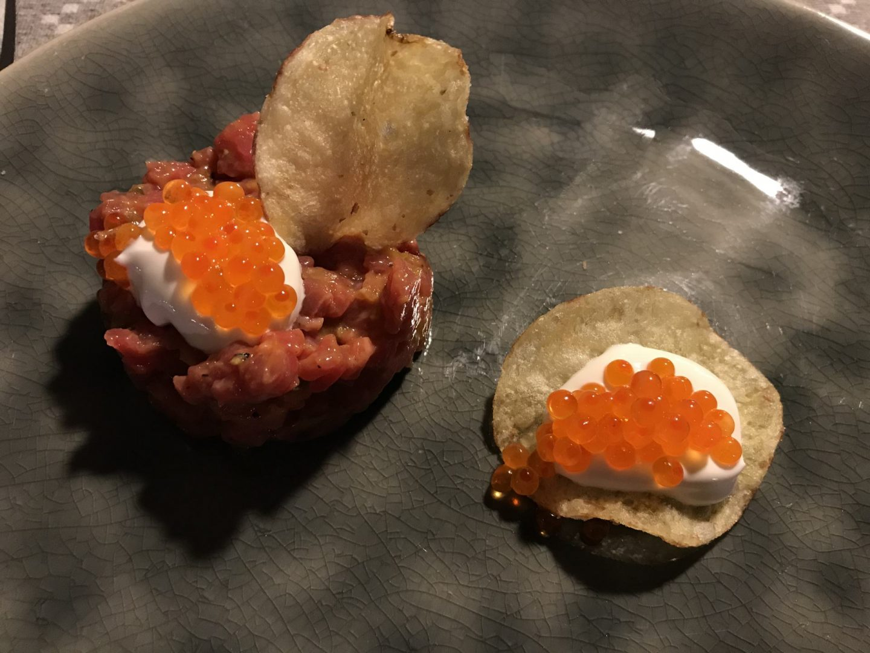Erfahrung Bewertung Kritik BÄM Box Bullerei Tim Mälzer Tatar Chips Kaviar Foodblog Sternestulle