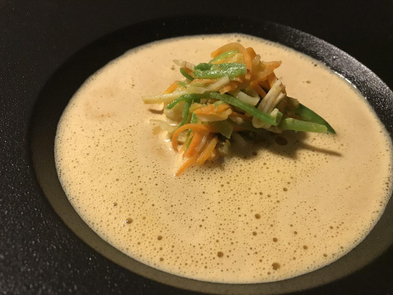 Erfahrung Bewertung Kritik Grammons Box Currysüppchen Garnelensalat Foodblog Sternestulle